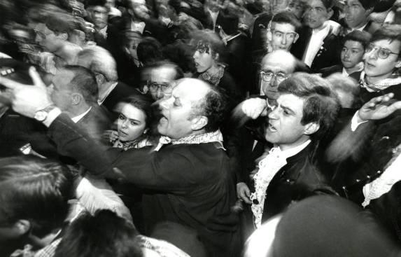 """Foto del """"susto"""" de 1989. Fuente: Levante EMV"""