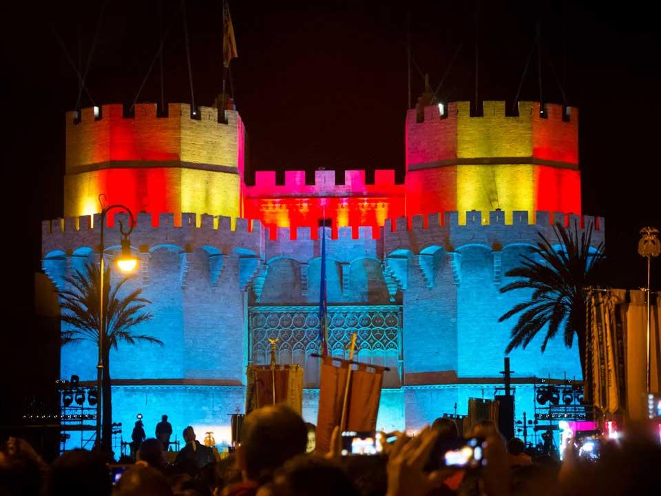 Foto de la Crida de 2014. Fuente: www.dasaudio.com