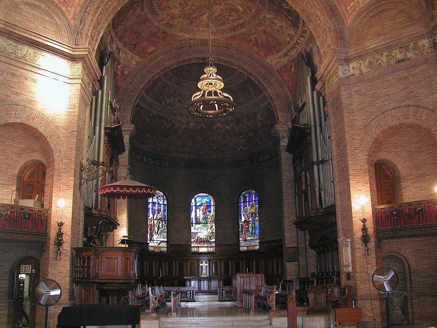 St. Paul's Chapel - Columbia University - New York City. Fuente: nycago.org