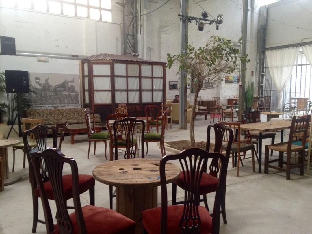 La antigua fábrica de hielo hoy convertida en espacio multicultural. Fuente: VALENCIA HAPPY.
