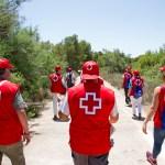 El voluntariado de Cruz Roja detecta más de 160 incidencias en la Albufera en el mes de julio