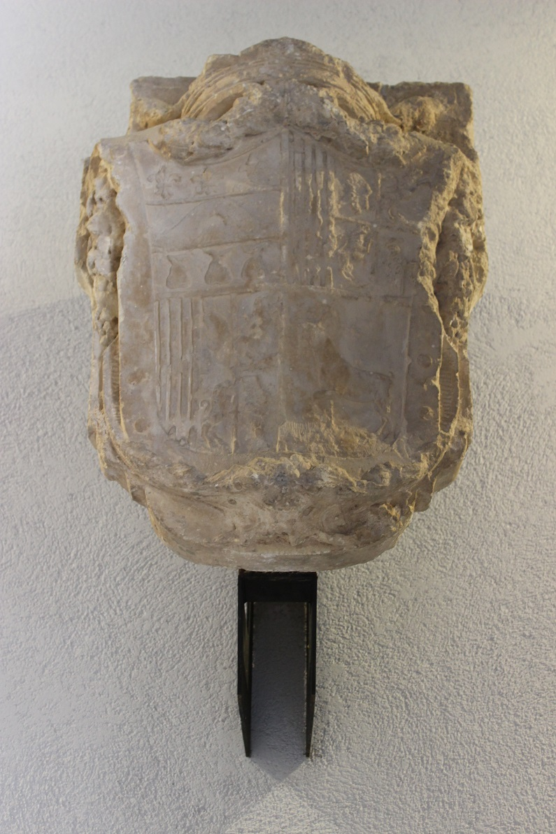 Escudo de armas que se encuentra en el interior del Palacio. Fuente: © Valenciabonita.es – Por favor, si compartes esta imagen indica la fuente :)