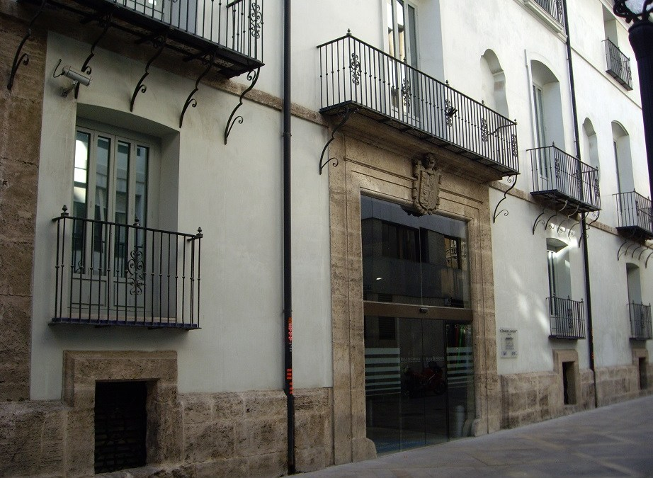 El precioso lugar donde la Bolsa de Valencia tiene su sede: el Palau de los Boïl d´Arenós