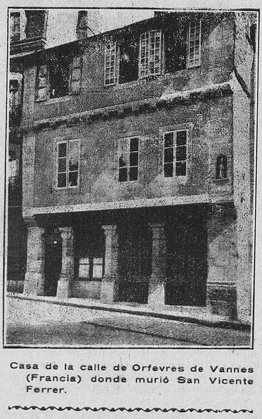 Fotografía del lunes 28 de abril de 1919 que aparece en Las Provincias.
