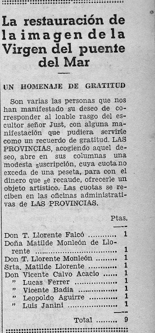 Viernes 11 de agosto de 1933, Las Provincias (prensahistorica.mcu.es).