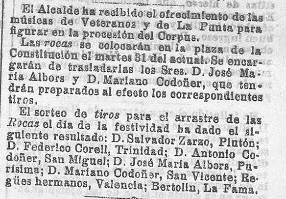 La correspondencia de Valencia : diario de noticias. 1904, mayo 23