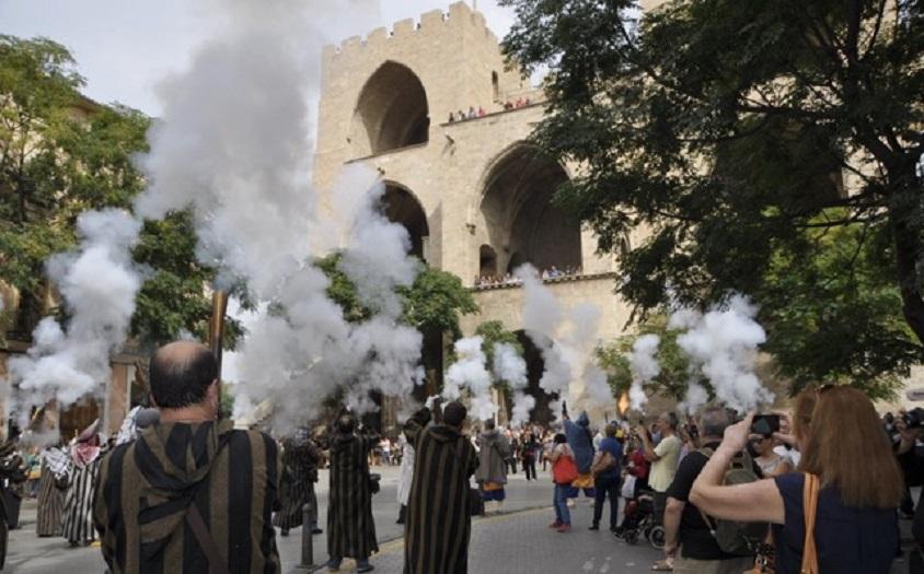 Valencia vive les Festes de Moros i Cristians al Cap i Casal del 1 de octubre al 9 de octubre