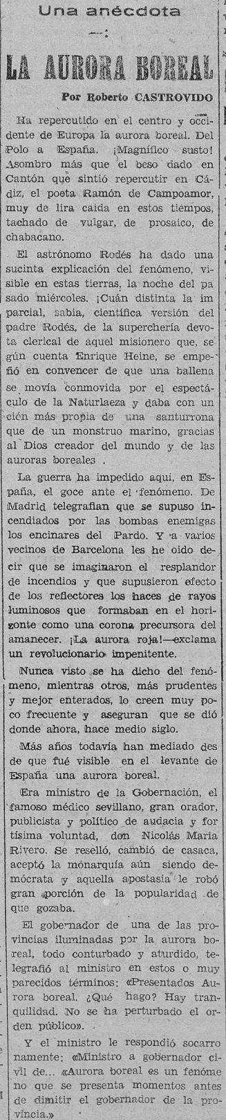 El Luchador : diario republicano, 4 de febrero de 1938, hablando sobre los hechos ocurridos el 2 de febrero de 1938.