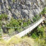 La ruta de los puentes colgantes de Chulilla