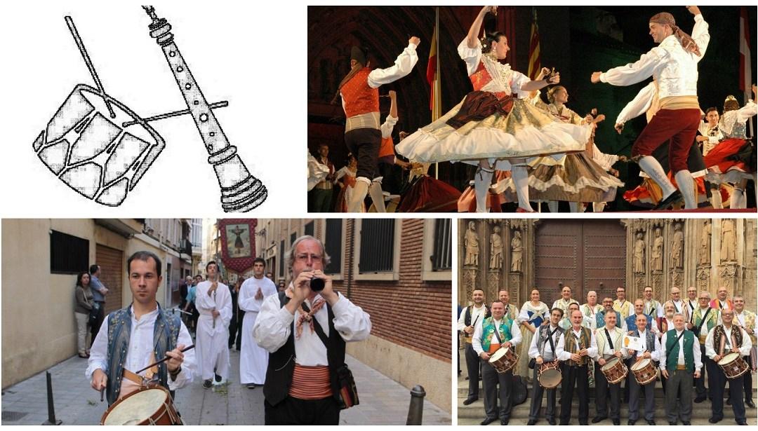 Regresan las actuaciones de danza regional con dolçaina y tabalet hasta noviembre en la Lonja
