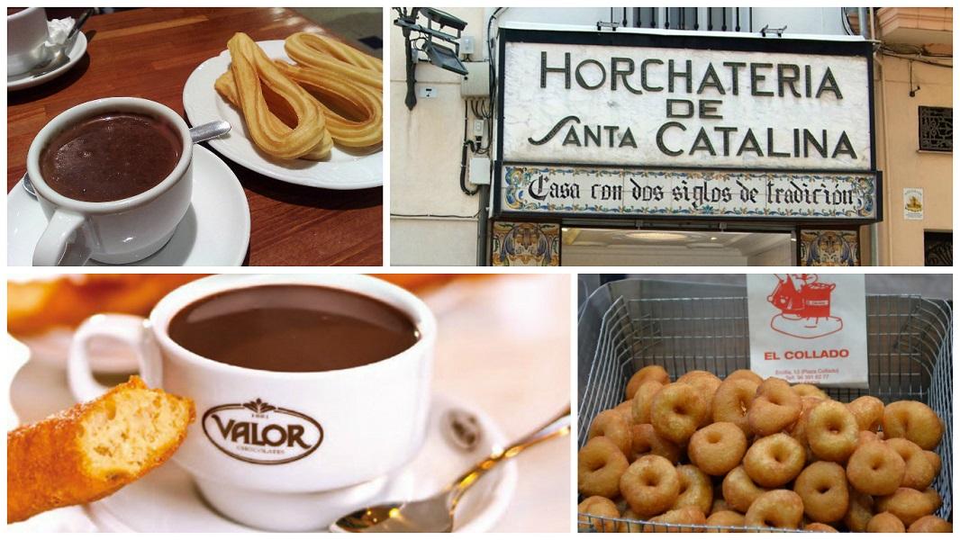 Las mejores Chocolaterías de Valencia – Dónde tomar un buen chocolate en Valencia.