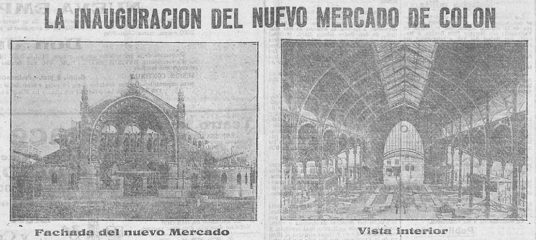 Las Provincias, 25 de diciembre de 1916 (en referencia al día anterior).
