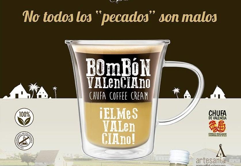 """Una empresa valenciana lanza al mercado el """"bombón valenciano"""": café con horchata concentrada"""