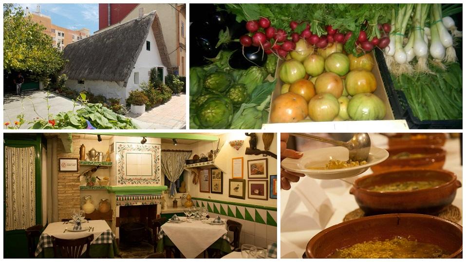 La genuina una preciosa barraca valenciana convertida en un restaurante de cocina valenciana - Restaurante en pinedo ...