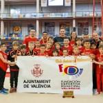 El equipo de gimnasia artística masculina Club Antares Valencia se proclama Campeón de España