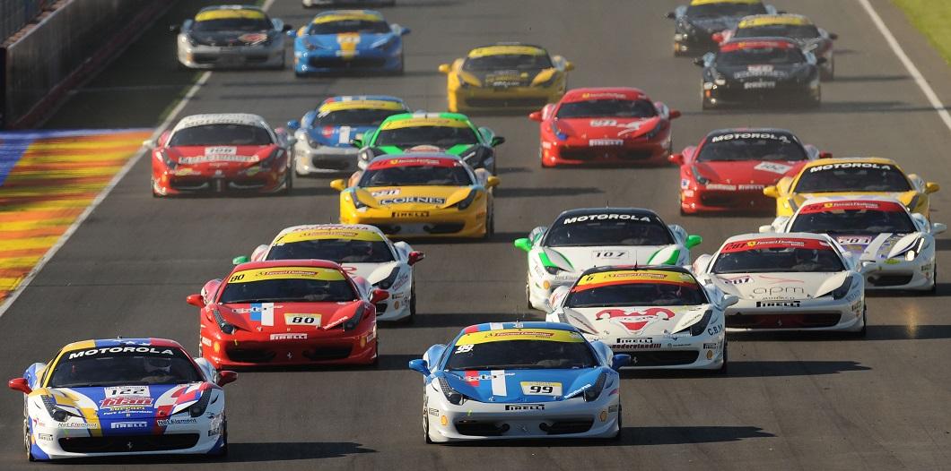 Ferrari celebra en el Circuit Ricardo Tormo su 70 aniversario con ENTRADA GRATUITA