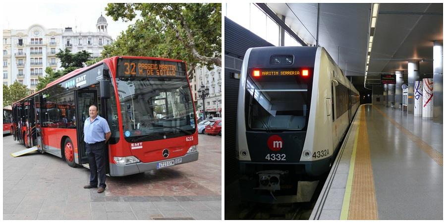 Viajar en metro y en bus en Valencia será GRATIS el viernes 22 de septiembre