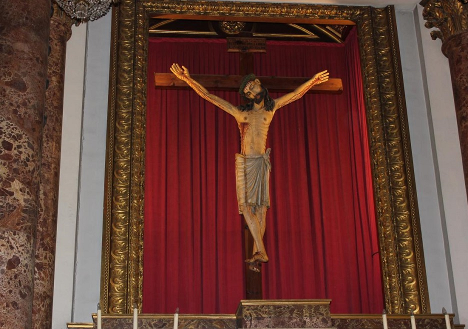 La leyenda del Santísimo Cristo del Salvador: el Cristo más antiguo de los valencianos