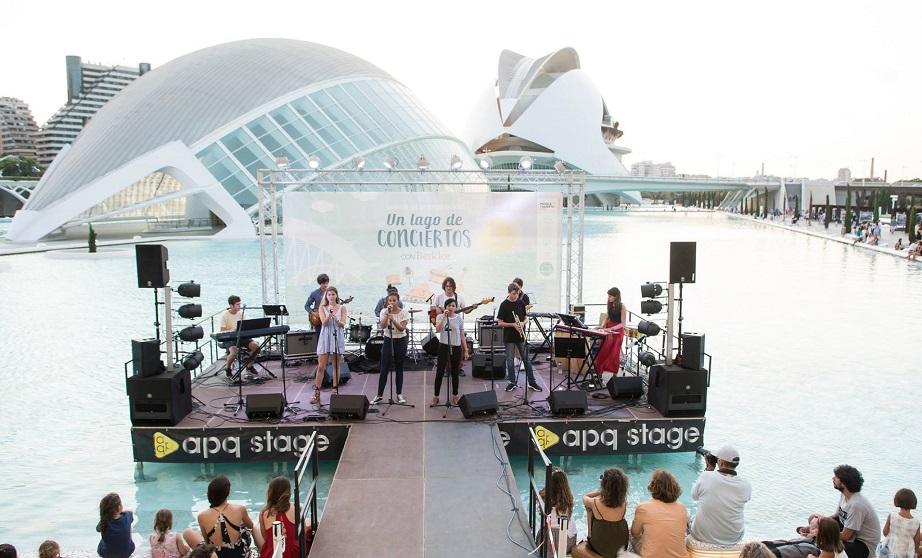 Un Lago de Conciertos vuelve el 15 de junio con música de fusión de Oriente Medio y la India