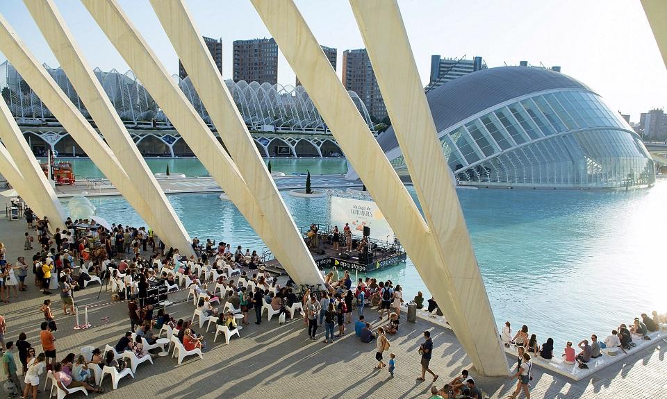 """Vuelve """"Un Lago de Conciertos"""" GRATUITOS todos los viernes a la Ciudad de las Artes y las Ciencias"""