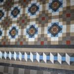 El conjunto de pavimento Nolla descubierto en el Palacio de Calatayud será visitable
