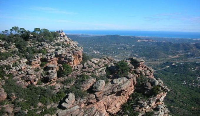 Bergskette_Gipfelkette Calderona