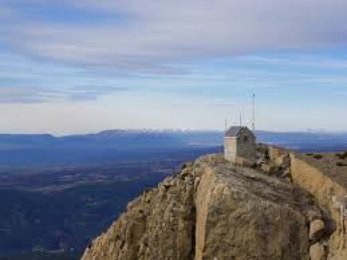 Berg Penyagolosa Valencia Spanien