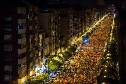 15K Nacht Laufstrecke_Strassen_Valencia