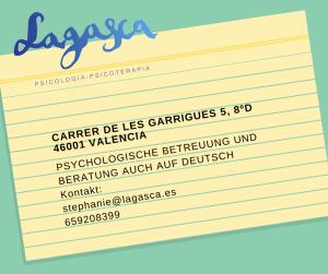 Lagasca_Psychologisches Zentrum_Valencia_Adressverzeichnis