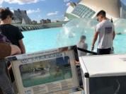 Stadt der Künste und Wissenschaften mal anders_Valencia_Aktivitäten_Wasserbälle12