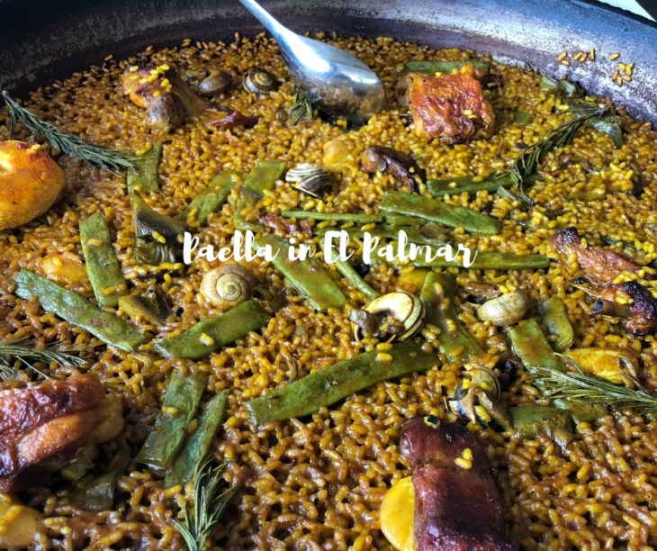 Paella in El Palmar