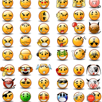 Valencia in Emoticons