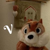 """Das ABC mit Murmel """"V"""""""