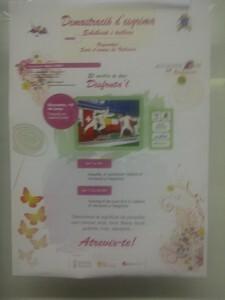 Cartel de las actividades de la Sala d´Armes de Valencia