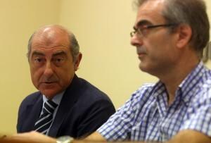 El edil y presidente de la EMT, Alfonso Novo, en la comparecencia de ésta mañana/Ayto Vlc