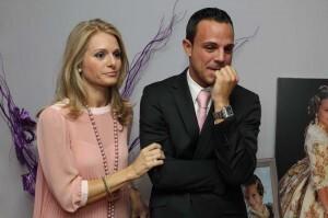 Los padres de la nueva Fallera Mayor Infantil de Valencia/josep vicent zaragoza