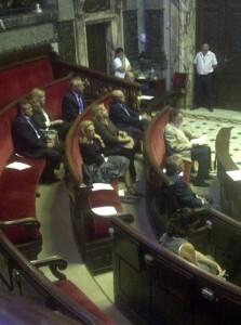 La bancada del equipo de gobierno del Ayuntamiento de Valencia/vlcciudad