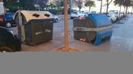 El viento deja destrozos en Valencia y un fallecido en Benimàmet (1)