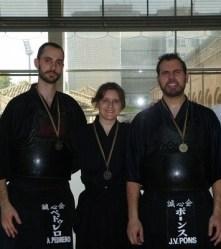 Tres fueron los deportistas del club de Alboraya que participaron.