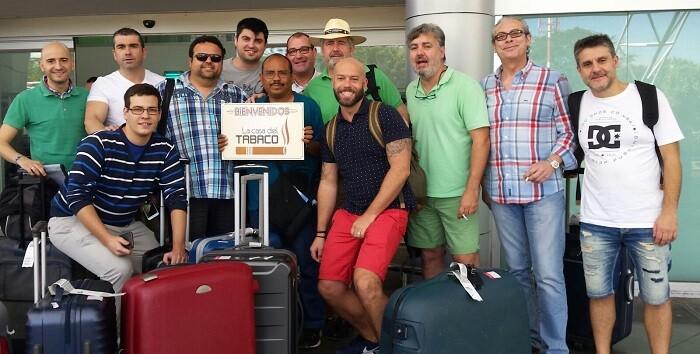 Delegación que viaja a Nicaragua.