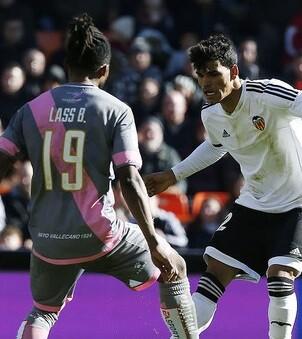 El Valencia necesita recuperar puntos tanto dentro como fuera de casa. (Foto-Lázaro de la Peña).