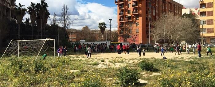 La solución pasa porque el Ayuntamiento acondicione la zona deportiva que estuvo prevista en el PAI de Benimaclet.