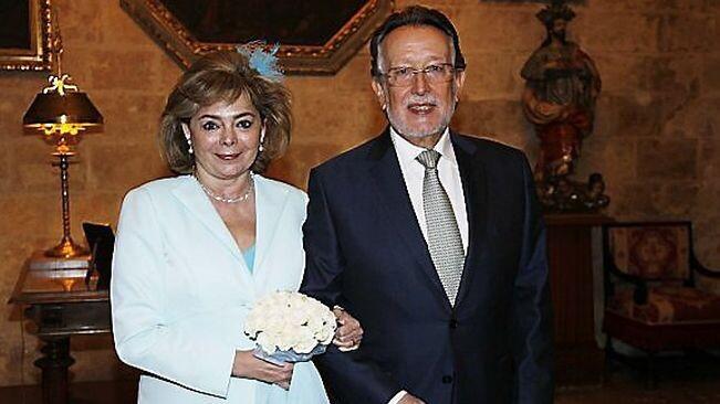 L'exregidora María José Alcón es va casar a principis de 2015 amb l'exvicealcalde de València Alfonso Grau. / PEPE SAPENA