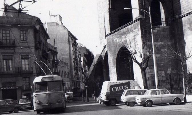 Torres de Serranos. Julio 1974. (Foto-Miguel Légor).