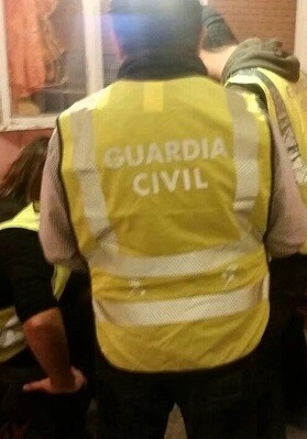 Operación realizada por la Jefatura de Información de la Guardia Civil y del Grupo de Información de la Comandancia de Madrid. (Guardia Civil).