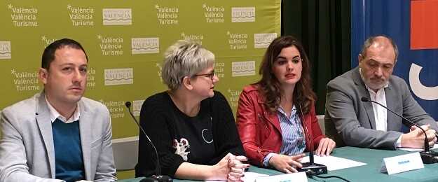 Gómez y Moncho han destacado los beneficios del primer año de trabajo conjunto para la ampliación de la oferta turística valenciana.