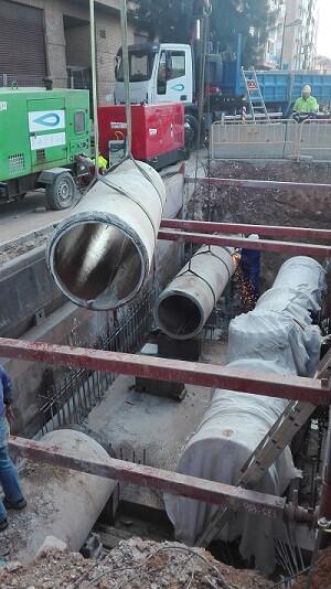 Instalación de válvula.