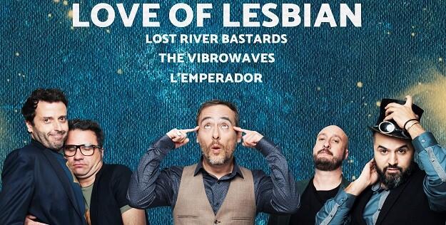 El grupo Love of Lesbian.