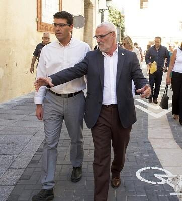 Jorge Rodríguez, en una visita reciente al municipio.