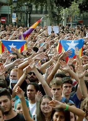 Manifestación en una imagen de archivo.
